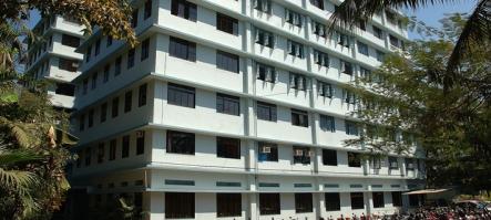 College building aka jail