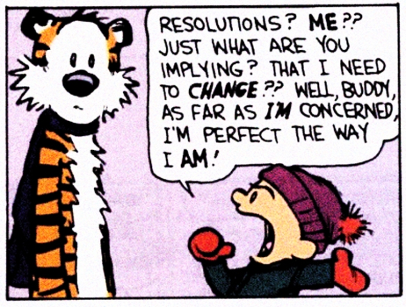 Calvin on Resolution